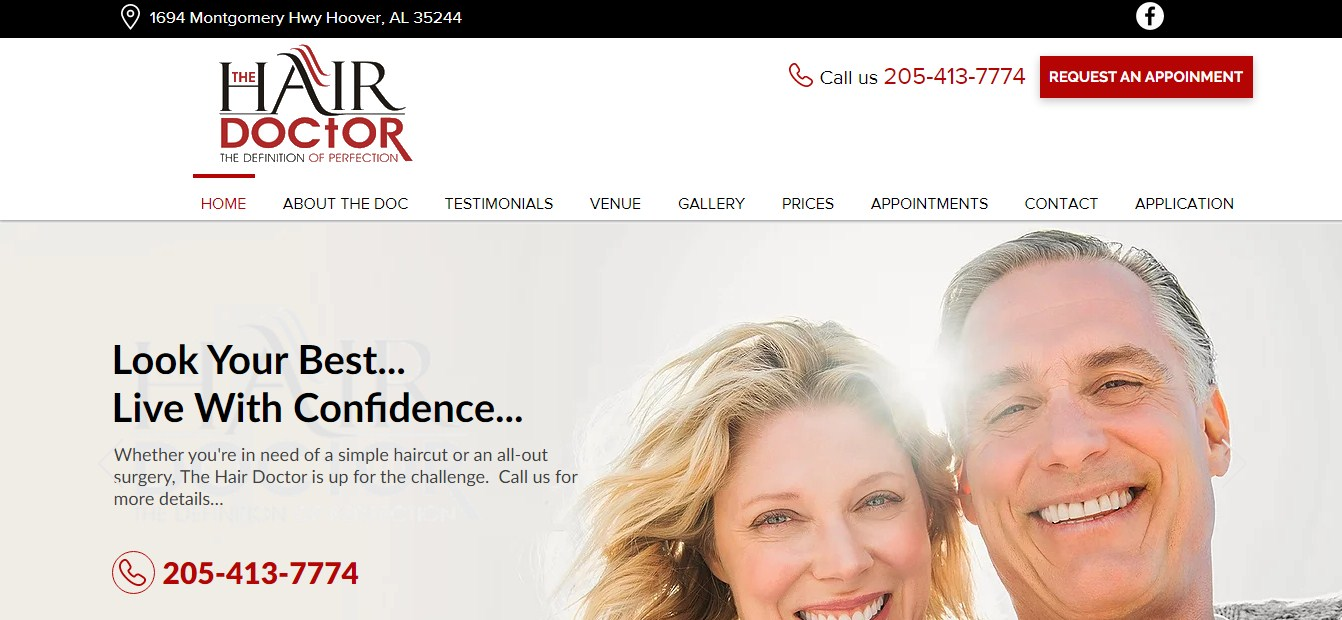 Business logo of The Hair Doctor