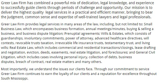 Greer Law Firm, PLLC
