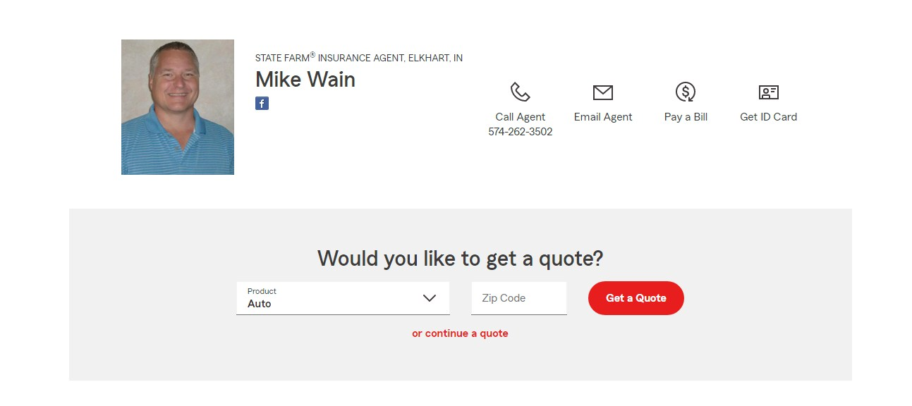 Business logo of Mike Wain- State Farm Agent