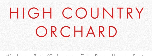 Company logo of High Country Orchard & Wedding/Event Venue