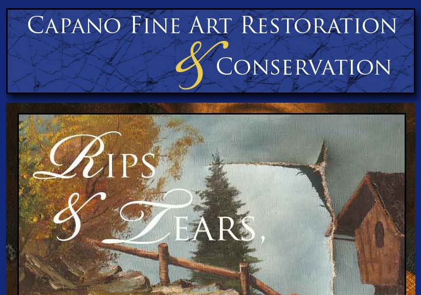 Business logo of Lisa Capano Fine Art Restoration and Conservation