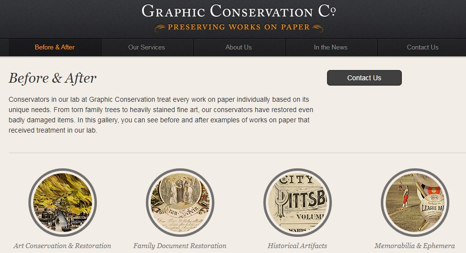 Business logo of Graphic Conservation Co