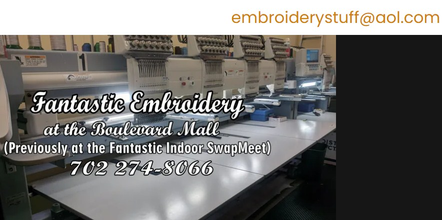Business logo of Fantastic Embroidery at the Boulevard Mall