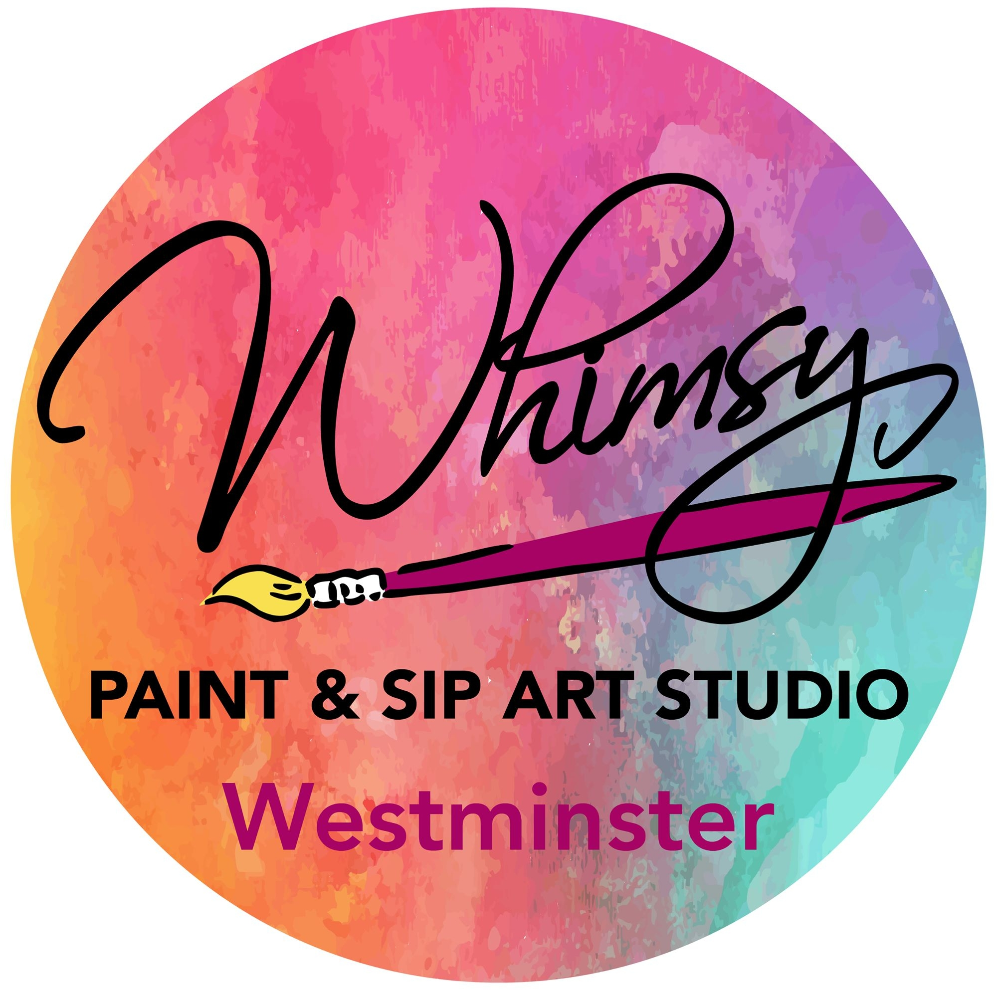 Company logo of Whimsy Paint and Sip Art Studio