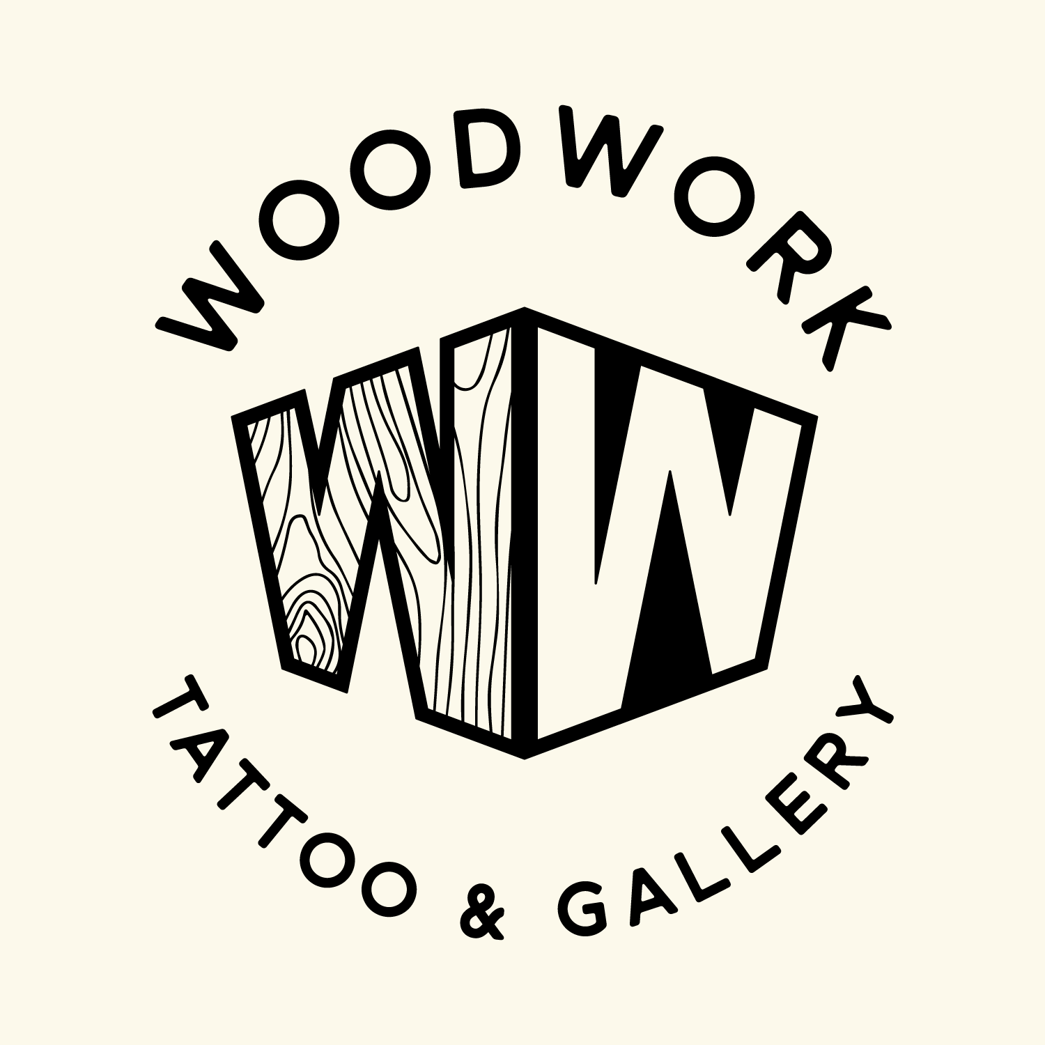 Business logo of Woodwork Tattoo & Gallery