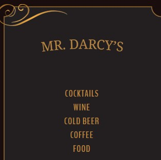 Business logo of Mr. Darcy's