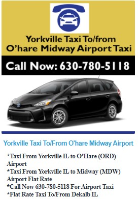 Glendale Heights Taxi - Four Seasons Airport Taxi