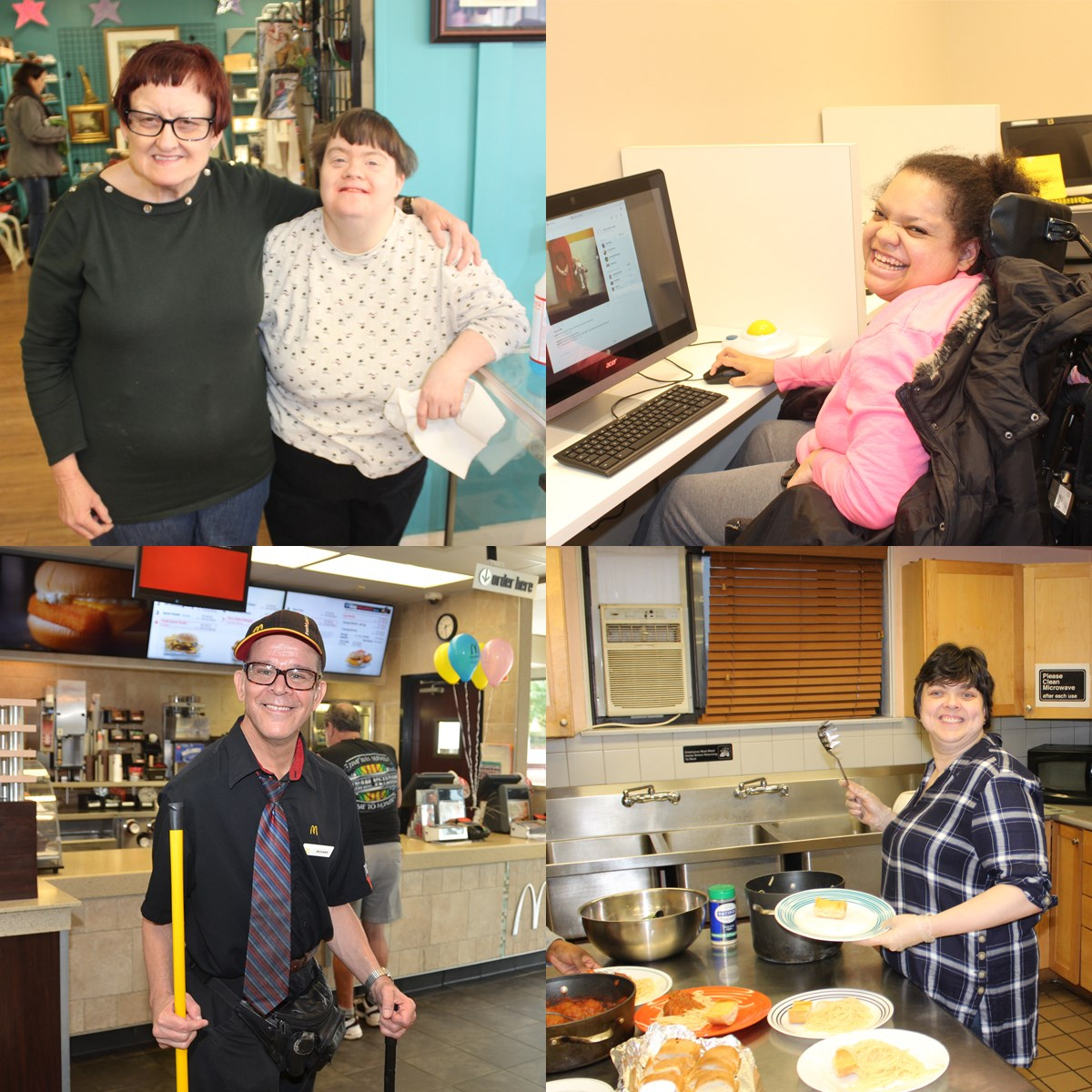 March is Developmental Disabilities Awareness Month and we use this month to showcase the people of Avenues and how they make our communities better.