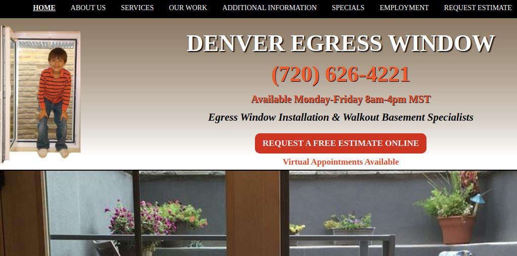 Company logo of Denver Egress Window
