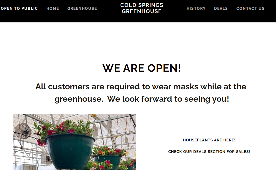 Company logo of Cold Springs Greenhouse