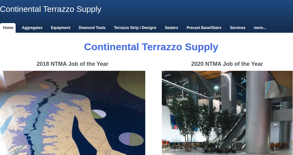 Business logo of Continental Terrazzo Supply Inc