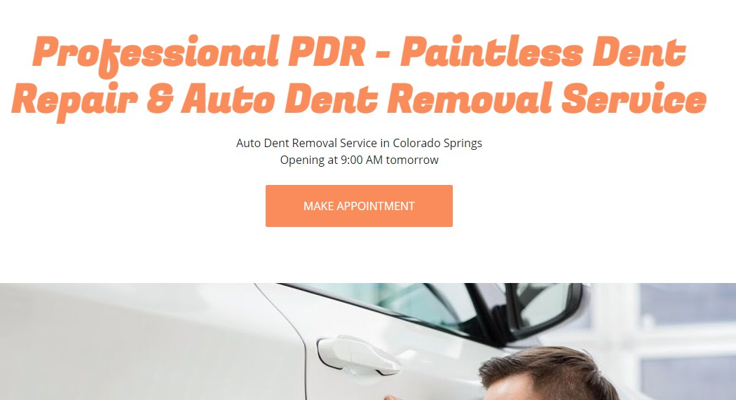 Business logo of Professional PDR - Paintless Dent Repair & Auto Dent Removal Service