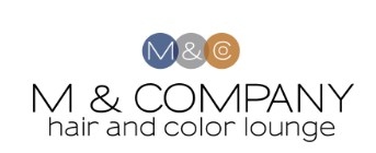Company logo of M & Company hair and color lounge